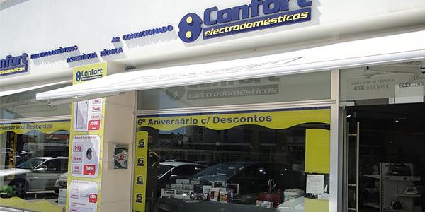 Exterior tienda Confort
