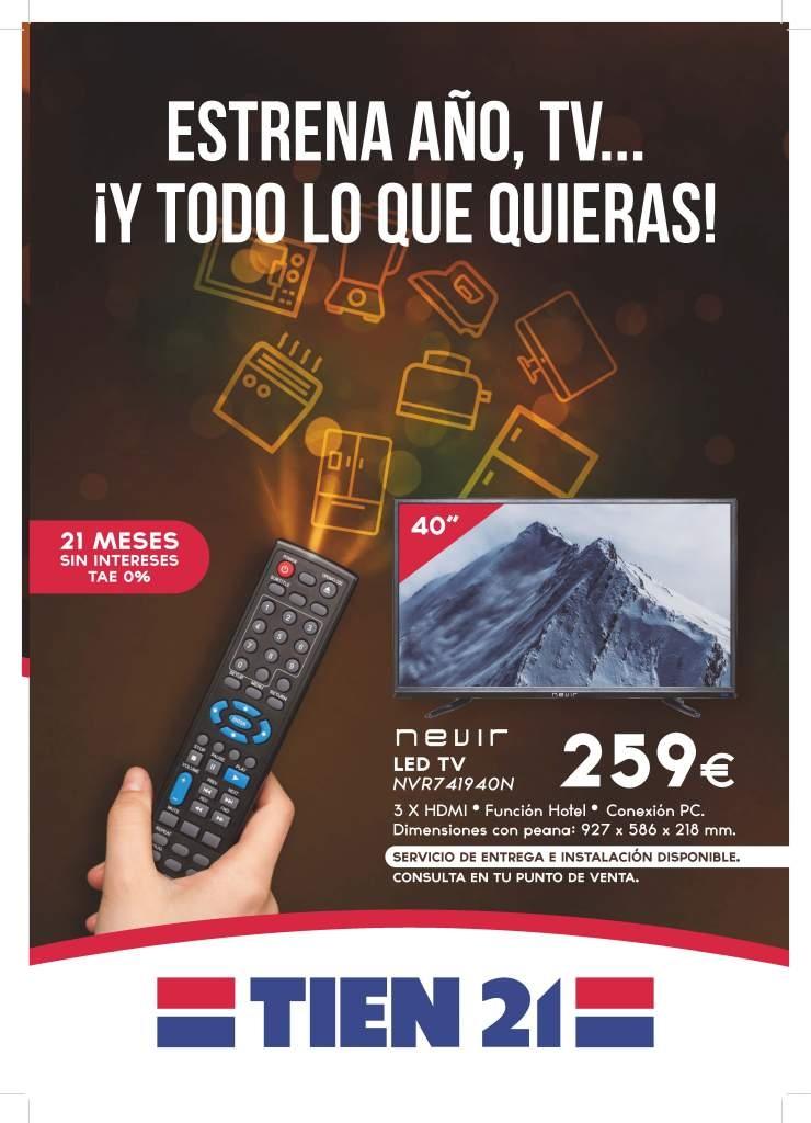 ESTRENA AÑO, TV Y TODO LO QUIERAS